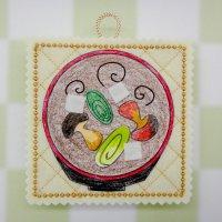 『お味噌汁』:塗り絵手芸キット